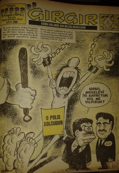 2 Şubat 1986 / Gırgır Dergisi - Sayı: 700