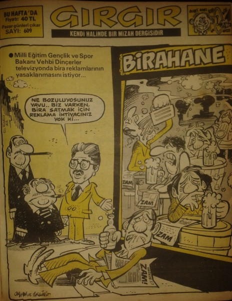 Yıl:12 Sayı:609 / 6 Mayıs 1984