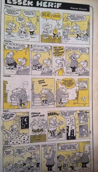 eşşek herif karikatür sayı 24