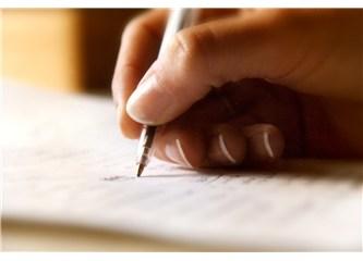 kalem yazmak