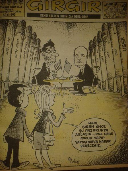 sayı 19 karikatür